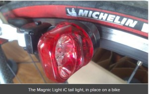 Magnic Light iC brings new features to touchless dynamo bike light