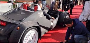 Local Motors' 3D Printed 'Strati' Car Has Just Taken Its First Test Drive