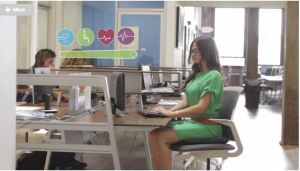 This Smart Chair Pad Will Turn Sitting Into A Healthy Habit