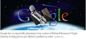 Google Satellites Kick Off Second Leg Of Silicon Valley Space Race