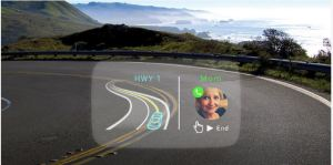 Navdy is a Futuristic Heads-Up Display That Resembles a Google Glass Like Experience For Your Car