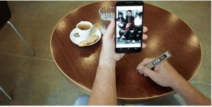 Meet Phree, an advanced mobile input device with 3D laser tech