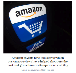 Amazon looks to improve customer-reviews system with machine learning