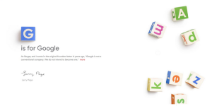 Google is reorganizing under a new umbrella company called Alphabet