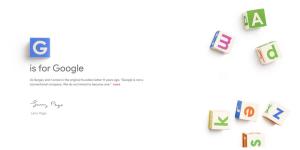 Google is reorganizing under a new umbrella company called Alphabet