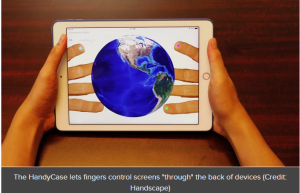 HandyCase lets users operate mobile devices from both sides