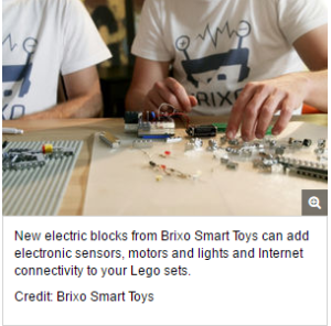 'Smart' Blocks Turn Lego Creations into Web-Connected Toys