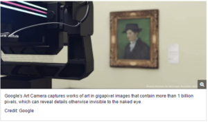 Google's Gigapixel Camera Reveals Minute Details in Famous Works of Art