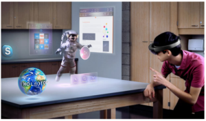 Microsoft's Holographic Platform Opening Mixes It Up