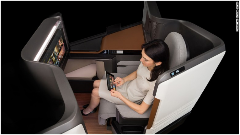 Airline cabins of the future: A new golden age of travel?