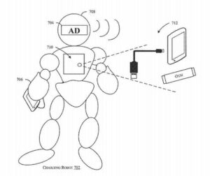 Amazon patents a power-charging robot that'll come when you call