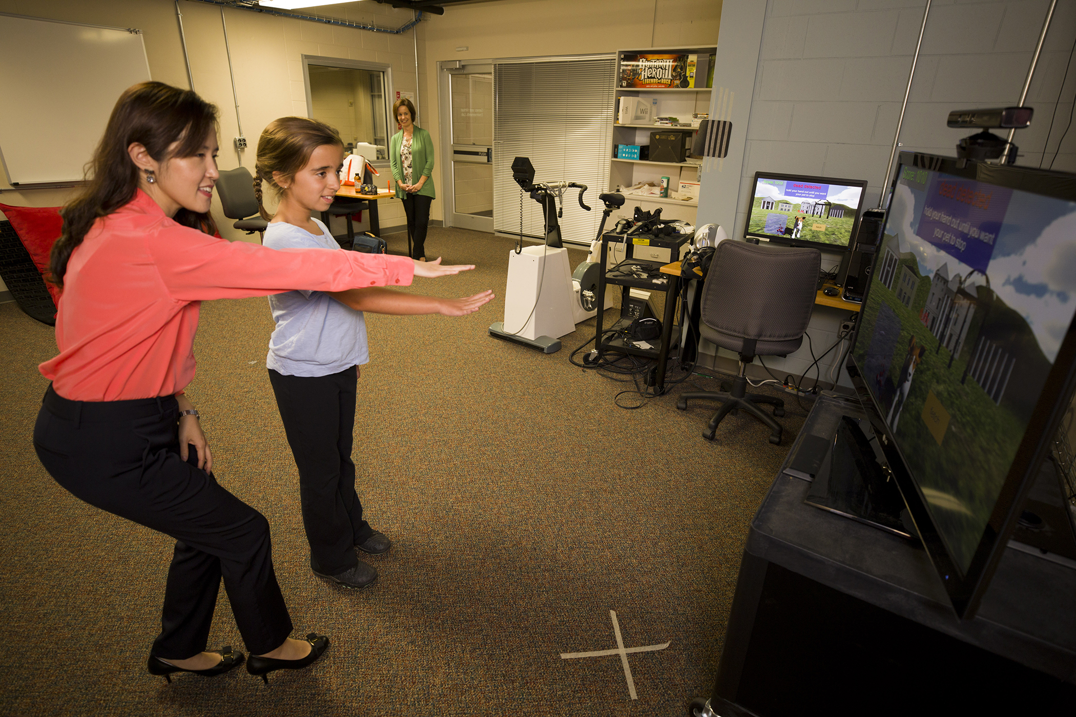 UGA researchers use virtual fitness system to help children exercise more