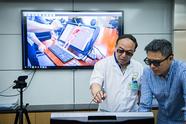164-ChinaDaily-VR Technology set to transform healthcare
