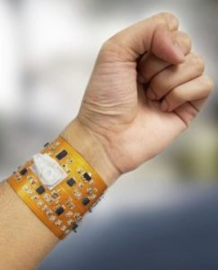 Smart wristband with link to smartphones could monitor health, environmental exposures