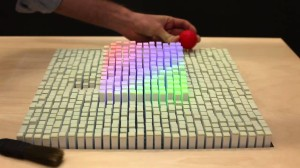 Shape-Shifting display creates Your Movements in 3d