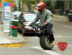 One-Wheeled Electric Motorcycle Ready To Make Its Debut
