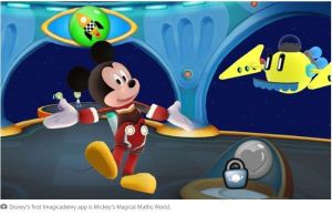 Disney launches its first 'Imagicademy' educational app for kids