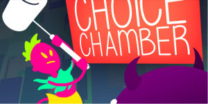The first Twitch-funded game, 'Choice Chamber,' lets viewers play along with gamers
