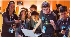 Kids Create at Google I/O Youth