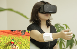 This Wearable Device Lets you Touch your Virtual Reality World