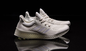 3D-Printed Running Shoe Mimics Your Footprint