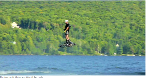 Canadian Invents A Hoverboard That Really Flies, Sets New Guinness World Record!