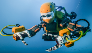 Maiden voyage of Stanford's humanoid robotic diver recovers treasures from King Louis XIV's wrecked flagship