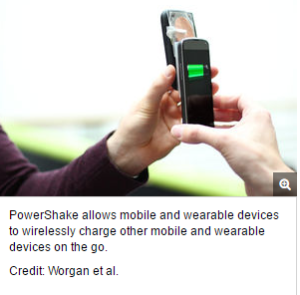 Low Battery? New Tech Lets You Wirelessly Share Power