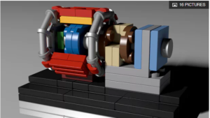 LEGO version of Large Hadron Collider picks up speed