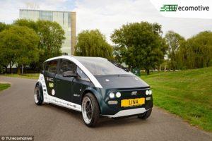 Dutch students grow their own biodegradable car