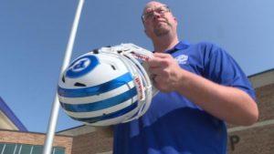 New helmet technology will help metro schools monitor player hits