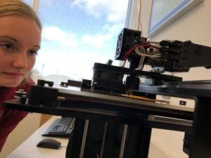 PROFESSOR EXPLORES 3D PRINTING IN OCCUPATIONAL THERAPY