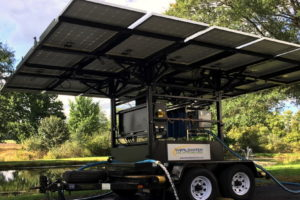 These solar-powered water purifiers can produce 30,000 gallons of water per day