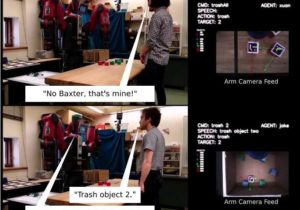 A new robot capable of learning ownership relations and norms
